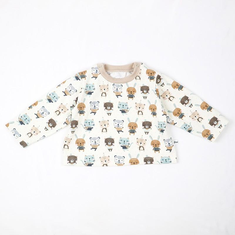 Tee_shirt les amis chéris en coton biologique une création originale !