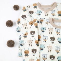 Tee_shirt les amis chéris fabriqué en France, création Bambio.