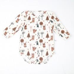 Sous-vêtement bébé petit gang jersey biologique fabriqué en France