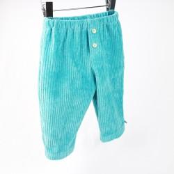 Pantalon bébé garçon velours, en matières biologiques et naturelles, une belle idée pour un cadeau !