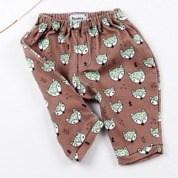 Petit pantalon renards, mignon et écolo pour un bébé malin!