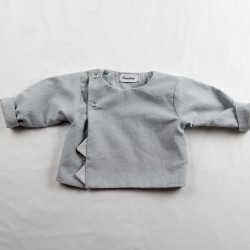 Petite veste nuage écolo pour un bébé élégant !