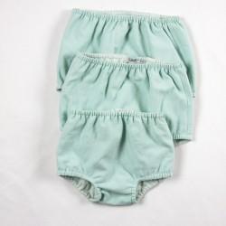 Idée cadeau de naissance pour cette culotte bloomer bouffante façon layette nature