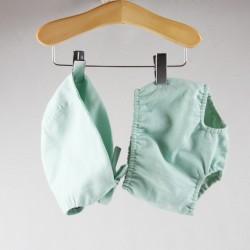 béguin assorti création couture pour bébé en tissu certifié Oekotex de fabrication artisanale et soignée