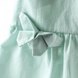 Un très joli cadeau de naissance original cette robe et son papillon origami