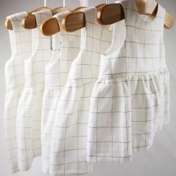 Création originale pour cette robe fillette oeko tex et bio spécial bébé