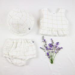 Petite culotte de fille, chic et écolo pour un bébé mode