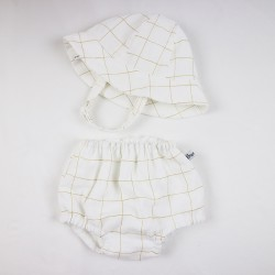 Un cadeau de naissance unique élégante culotte cache-couche 100% coton oeko-tex et bio, la mode au naturel!