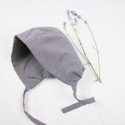 Chapeau bébé création couture  en tissu certifié biologique de fabrication artisanale et soignée