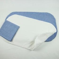 Topponcino matelas de naissance pour  protéger bébé ,tissu certifié bio de fabrication artisanale et soignée.