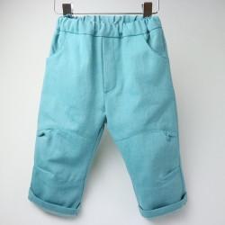 Un cadeau de naissance unique trendy pantalon bébé 100% coton bio, la mode au naturel!