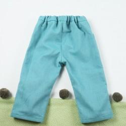 petit pantalon mixte, résistant et écolo pour un bébé mode