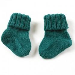 La mode au naturel avec ces mignons petits chaussons bébé