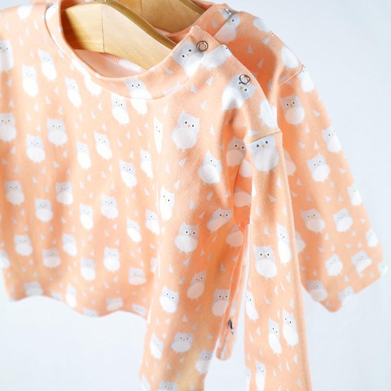 Tee-shirt bébé création couture  en tissu certifié bio de fabrication artisanale et soignée
