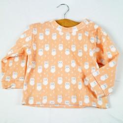 Petit tee-shirt chic et écolo, pour un bébé à la mode