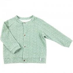Un cadeau de naissance unique élégante veste 100% coton bio, la mode au naturel!