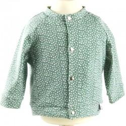 Idée cadeau de naissance pour cette veste stylée et bio