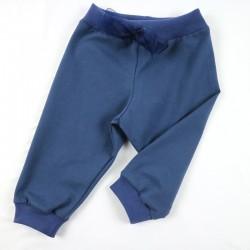 Style sportif pour ce pantalon jogging fille cousu en France en coton biologique.