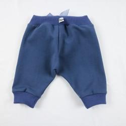 Petit pantalon fille une idée cadeau de naissance bio et de fabrication française.