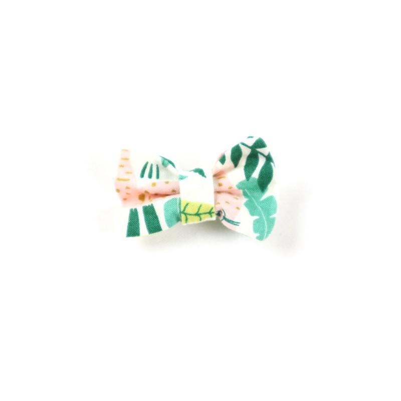 Mini-barrette création Bambio collection Jungle pour parfaire la tenue vestimentaire de bébé.