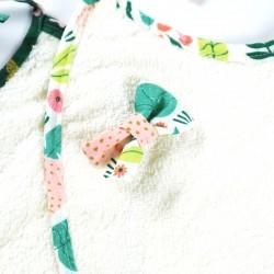 Mini-barrette bébé Jungle pour maintenir les cheveux  en place.