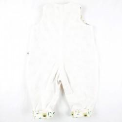 Création originale pour cette combinaison mixte en coton bio spécial bébé motifs lama intérieur.