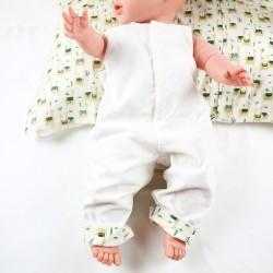 La combinaison aux lamas, un cadeau de naissance unique  100% coton  bio, la mode au naturel!