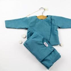 Création originale pour ce haut coton bio pour un bébé mode !