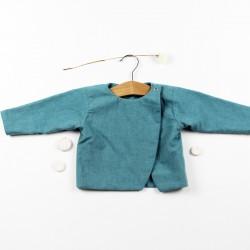Un cadeau de naissance original en chambray écolo, naturel et mode !