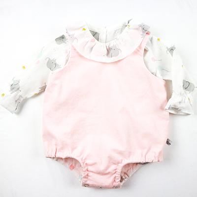 barboteuse et blouse coton organique